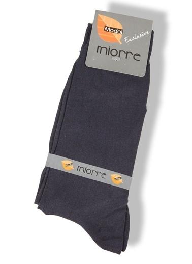Miorre Desenli Modal Erkek Çorap Gri